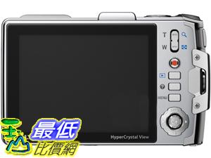 [玉山最低比價網] Olympus TG810 (潛水10米) 數位相機 銀 黑 $8621