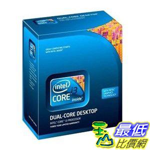 [美國直購 ShopUSA] 酷睿 Intel Cpu Bx80616i3550 Core I3 550 3.2ghz Lga1156 4mb 2cores/4threads Retail Grade