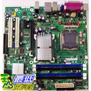 [美國直購 ShopUSA] Intel 主板 BLKDQ965GFEKR Conroe LGA775 1066 800FSB DDR2 A/V Lan Raid SATA mATX Motherboard