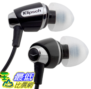 [美國直購] 耳機 Klipsch IMAGE S4 In-Ear Enhanced Bass Noise-Isolating Headphones (Black)  $2699