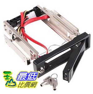 _B@[玉山最低比價網] 3.5吋 金屬 硬碟 抽取盒 SATA 介面 具有散熱風扇 可鎖住抽取盒 (20302_k221) $329