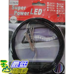 _a@[有現貨 ] 2入裝, 汽車DIY系列 可任意彎曲 60cm 藍色 LED 矽膠 軟條燈/軟貼片燈 (17247_J308) $168
