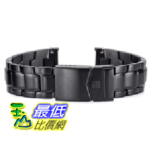 [美國直購 ShopUSA]   Luminox 原廠金屬錶帶 3402 F 117 PVD Black Steel Replacement band $5988