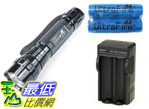 _a[含充電器] Ultrafire WF-501B 超亮 CREE Q5 LED燈芯 手電筒 (17129_P011) $998