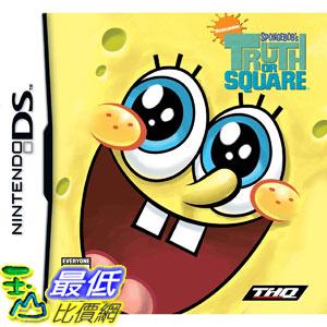 [美國直購 ShopUSA] NDS 海棉寶寶 Nintendo DS SpongeBob's Truth or Square_AD5 $699