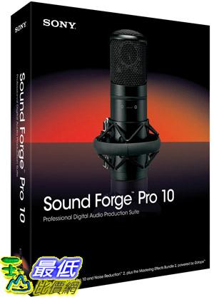 [美國直購 ShopUSA] 索尼 Sony Creative Sound Forge  Pro 10 $13908