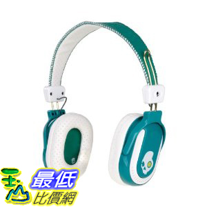 [美國直購 ShopUSA]  耳罩式耳機  Skullcandy S6DABZ-EW Double Agent Headphones, (Emeral/White) $2190
