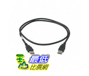 [美國直購 ShopUSA] 電纜 Cables to Go 28105 USB A Male to A Male Cable (1 Meter, Black) $443