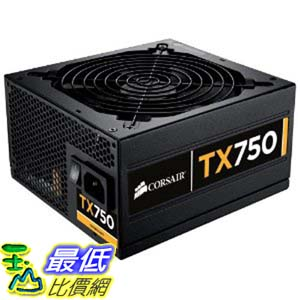 [美國直購 ShopUSA] Corsair Enthusiast Series 750-Watt 80 Plus Bronze Certified 電源供應器 Power Supply Compatible with Intel Core i3, i5, i7 and AMD platforms - CMPSU-750TXV2 $5000
