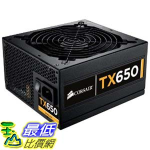 [美國直購 ShopUSA] Corsair Enthusiast Series 650-Watt 80 Plus Bronze Certified Power Supply Compatible with Intel Core i3, i5, i7 處理器 and AMD platforms - CMPSU-650TXV2 $5178