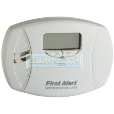 [美國直購 ShopUSA] First Alert CO615 Carbon Monoxide Plug-In Alarm with Battery Backup and Digital Display 報警器 $1824