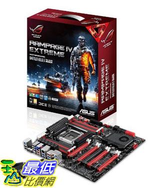 [美國直購 ShopUSA] ASUS 主機板 Digi+ II 8+2 Phase Power 8 x DIMM Intel X79 ATX DDR3 2400 Intel LGA 2011 Motherboards, Rampage IV Extreme/BF3 $19205