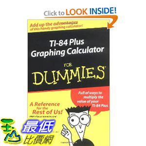 [美國直購 ShopUSA] TI-84 計算機使用指南288頁 TI-84 Plus Graphing Calculator for Dummies [Paperback] $799