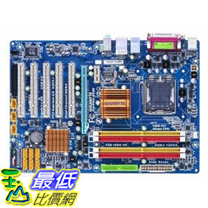 [美國國直購  二手刊用主機板 ]   Gigabyte Core 2 Quad/Intel P43/DDR2-1200/A&GbE/ATX Motherboard GA-P43-ES3G $4800