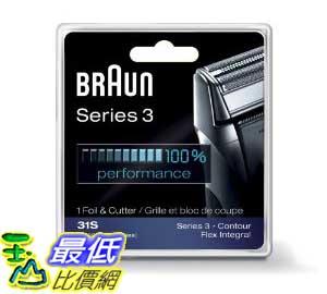 [美國直購 Shop USA] Braun 刀具 Series 3 Combi 31S Foil and Cutter Replacement Pack (Formerly 5000/6000) $1288