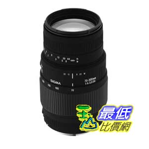 [美國直購 ShopUSA] Sigma 70-300mm f/4-5.6 DG Macro Telephoto Zoom Lens for Minolta and Sony SLR Cameras 鏡頭 $6060