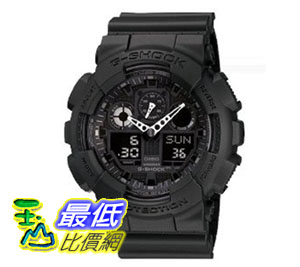 [美國直購 ShopUSA] G-Shock 手錶 GA-100-1A1 Big Combi Military Series Watch $5324