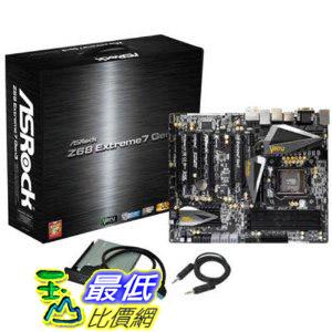 [美國直購 ShopUSA] ASRock 主機板 Gen3 LGA 1155 Intel Z68 DDR3 2133  Intel Motherboard - Z68 EXTREME7 GEN3  $11500