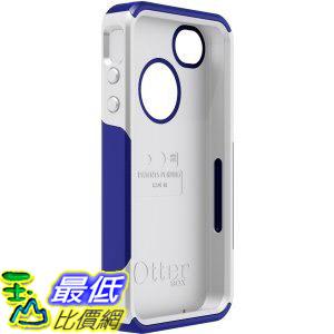 [美國直購 USAshop] Otterbox 保護殼 APL4-I4SUN-J3-E4OTR Commuter Series Hybrid Case for iPhone 4 & 4S - Retail Packaging - Zircon Blue/White