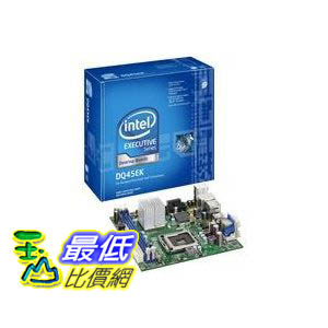 [美國直購 ShopUSA ] Intel 台式機主板 DQ45EK Executive Series Q45 Mini-ITX DDR2 800 vPro Intel Graphics 1333MHz FSB LGA775 Desktop Board - Retail