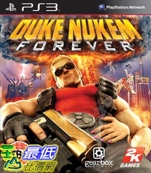 [玉山百貨網] PS3 永遠的毀滅公爵 Duke Nukem Forever(亞版) _BA2 $399