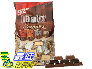 [104限時限量促銷] COST  HERSHEY'S 綜合巧克力NUGGETS CHOCOLATE 1.47 公斤 C600550