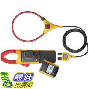 [美國直購 ShopUSA] 鉗表 Fluke 381 Remote Display True-RMS AC/DC Clamp Meter with iFlex $17666
