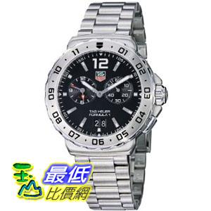 [美國直購 ShopUSA] TAG 手錶 Heuer Men's WAU111A.BA0858 Formula 1 Black Dial Grande Date Alarm Watch $40631