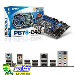 [美國直購 ShopUSA] MSI 主機板 Intel P67 (B3) ATX DDR3 1066 Intel - LGA 1155 Motherboards P67S-C43 (B3)  $4179