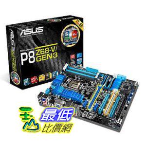 [二手良品 ShopUSA] ASUS LGA 1155 - Z68 - PCIe 3.0 and UEFI BIOS Intel Z68 2200 LGA 1155 Motherboards P8Z68-V/GEN3 $7899