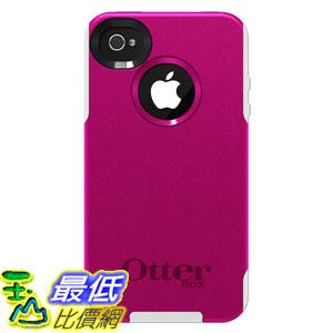 [美國直購 USAshop] OtterBox 保護殼 77-23129 Commuter Series for iPhone 4/4S - 1 Pack - Carrying Case - Hot Pink/White