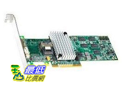 [美國直購 ShopUSA]  Intel 控制器卡 Controller Card Rs2bl040 4 Internal Ports Sas Sata Pcie2 X8 512m Md2 Low Profile Retail  $17479