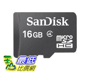 [美國直購 USAshop] SanDisk 存儲卡 16 GB Mobile microSDHC Flash Memory Card SDSDQM-016G-B35N