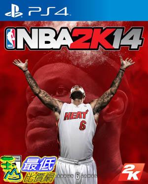 (現金價) PS4 勁爆美國職籃 2K14 NBA 2K14 中文版(亞版) $980