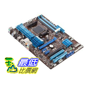 [美國直購 ShopUSA] Asus 主機板 Socket AM3+/ AMD 970/ Quad CrossFireX/ SATA3&USB3.0/ A&GbE/ ATX Motherboard (M5A97) $4398