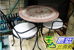[玉山最低比價網] COSCO TAKASHO 3PC PORKS MOSAIC SET 進口戶外傢具三件組_C86310 $3406