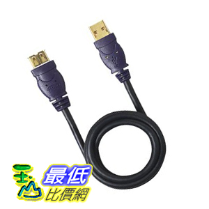 [美國直購 ShopUSA] Belkin Gold Series 6-Foot USB 延長線 Extension Cable F3U134-06-GLD $655