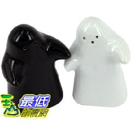 _a@[有現貨-馬上寄] 新創意 陶瓷 黑白娃娃擁抱 調味罐 可放鹽 胡椒粉 餐桌擺飾(22455B_L203)