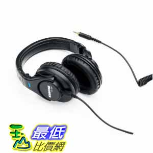 [美國直購 ShopUSA] Shure 黑色錄音室耳機 SRH440 Professional Studio Headphones (Black) $3888