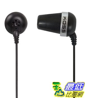[美國直購] Koss 入耳式耳機 'The Plug' In-Ear Headphones (Black) $690