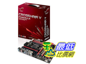 [美國直購] ASUS 主機板 Crosshair V Formula-Z AM3+ AMD 990FX SATA 6Gb/s USB 3.0 ATX AMD Motherboard  $9630