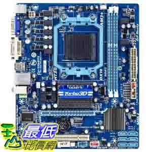 [美國直購 ShopUSA] Gigabyte 主機板 AMD 760G + SB710 Chipset DDR3 1333 AM3+ Micro ATX Motherboard (GA-78LMT-S2P) $2680
