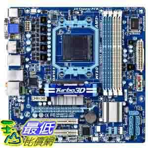 [美國直購 ShopUSA] GIGABYTE 主機板 GA-880GM-USB3 AM3 AMD 880G HDMI USB 3.0 Micro ATX AMD Motherboard $9968