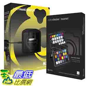 [美國直購] X-Rite CMUNDISCCPP ColorMunki Display and ColorChecker Passport Bundle 隨身色彩護照 色卡