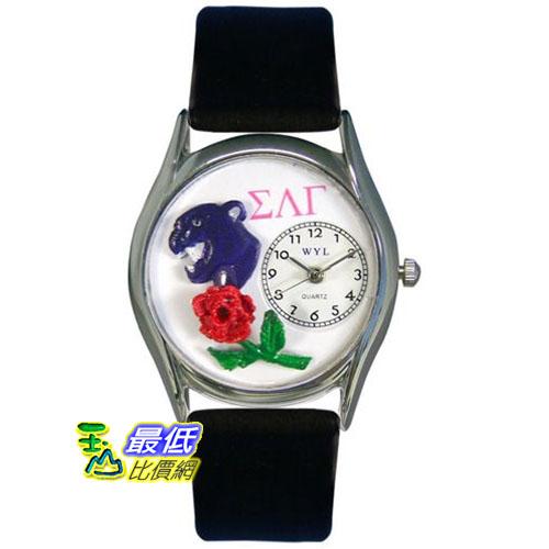[美國直購 USAShop] Whimsical Watches Unisex Sigma Lambda Gamma Silver 手錶 S1710026 _mr $2087