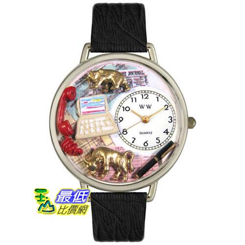 [美國直購 USAShop] Whimsical 手錶 Unisex Stock Broker in Silver Watch U0610003 _mr $2087