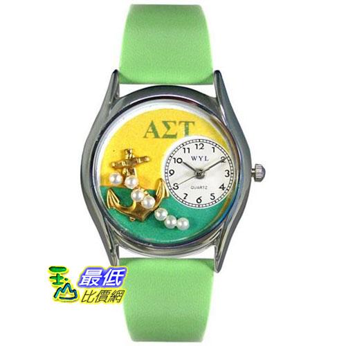 [美國直購 USAShop] Whimsical 手錶 Unisex Alpha Sigma Tau Silver Watch S1710009 _mr $2087
