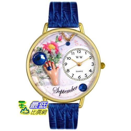[美國直購 USAShop] Whimsical 手錶 Unisex Birthstone: September Gold Watch G0910009 _mr $2087