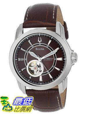[美國直購 USAShop] Bulova 手錶 Men's 96A108 Automatic Mechanical Brown Leather Strap Dial Watch $7834