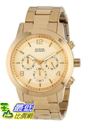 [美國直購 USAShop] GUESS 手錶 Men's U15061G2 Chronograph Goldtine Stainless Steel Watch $4533